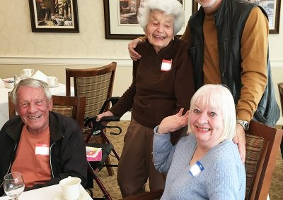 seniors at pacific palisades home